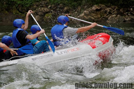 Rafting, spływy pontonowe, spływy na Dunajcu, FUN&RACE