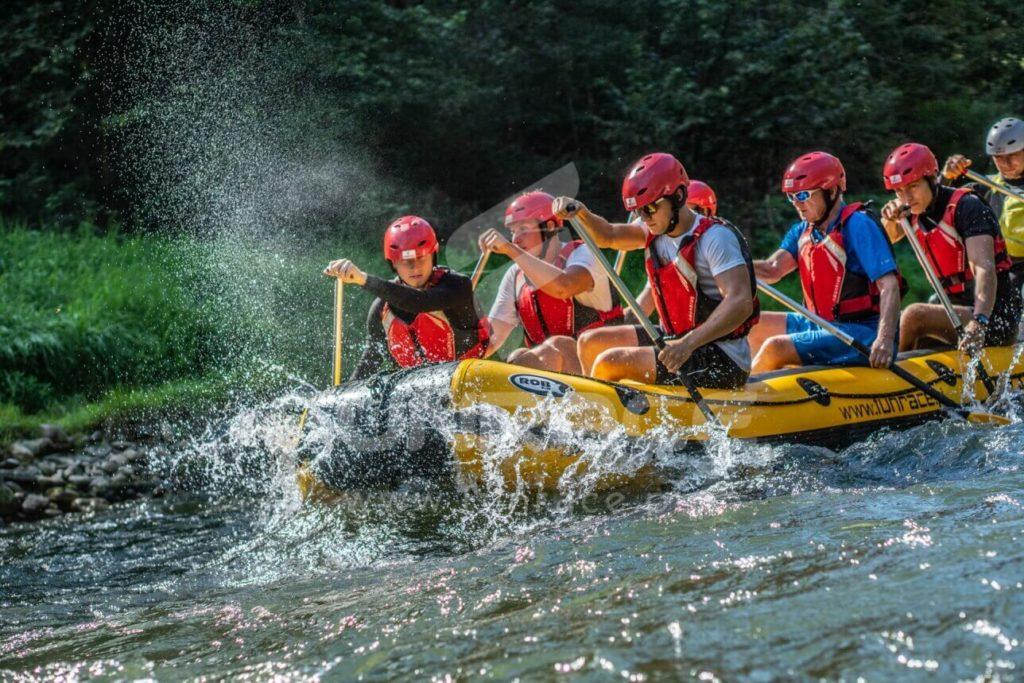 Rafting Dunajec, rafting na Dunajcu, spływ pontonowy Dunajcem_FUNRACE (1)