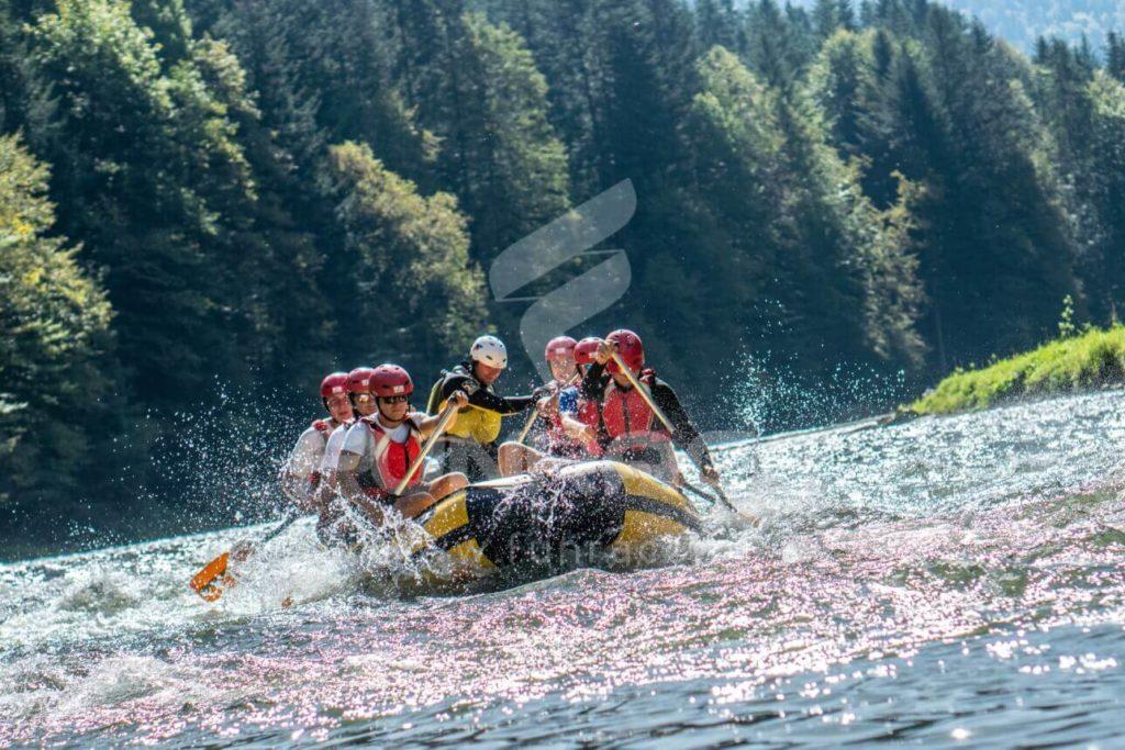 Rafting Dunajec, rafting na Dunajcu, spływ pontonowy Dunajcem_FUNRACE (10)