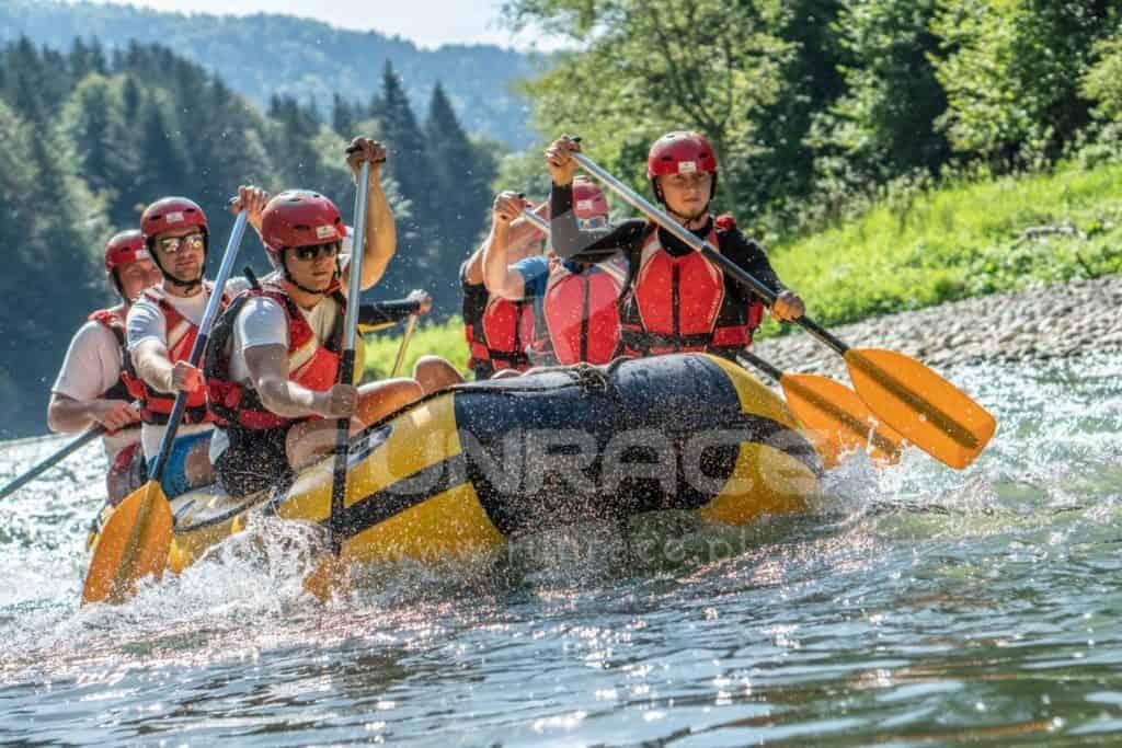 Rafting Dunajec, rafting na Dunajcu, spływ pontonowy Dunajcem_FUNRACE (11)