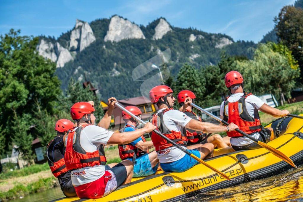 Rafting Dunajec, rafting na Dunajcu, spływ pontonowy Dunajcem_FUNRACE (2)