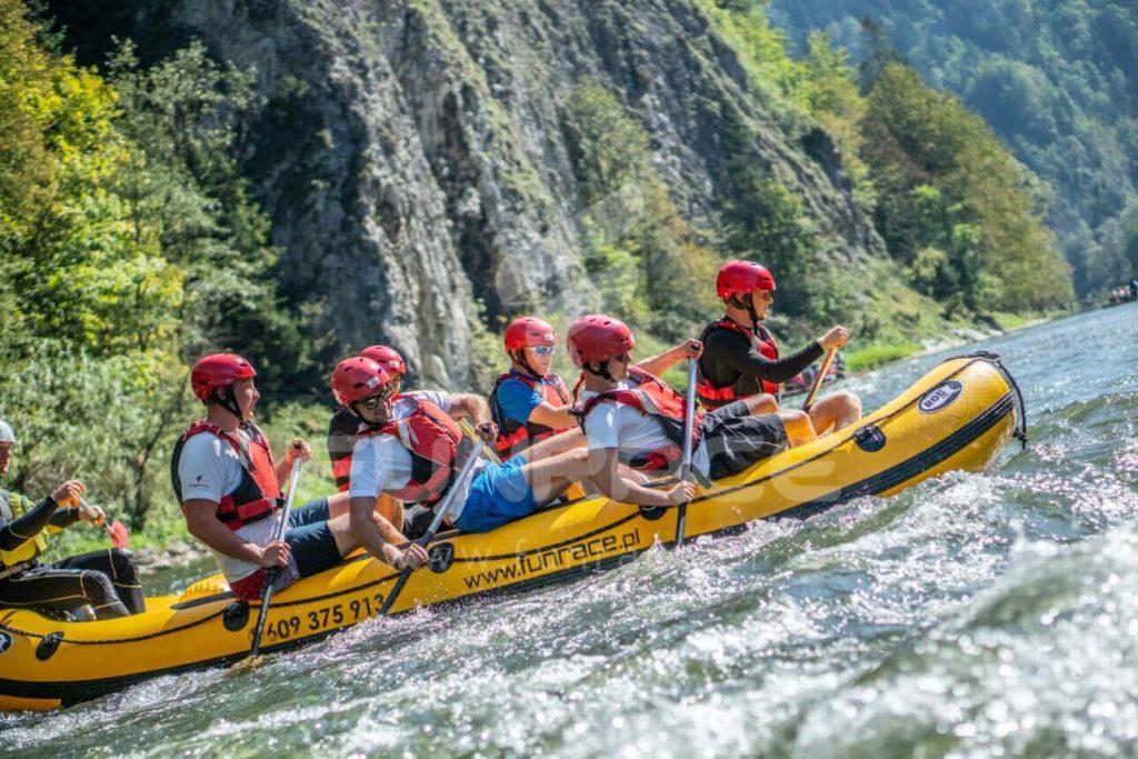 Rafting Dunajec, rafting na Dunajcu, spływ pontonowy Dunajcem_FUNRACE (6)